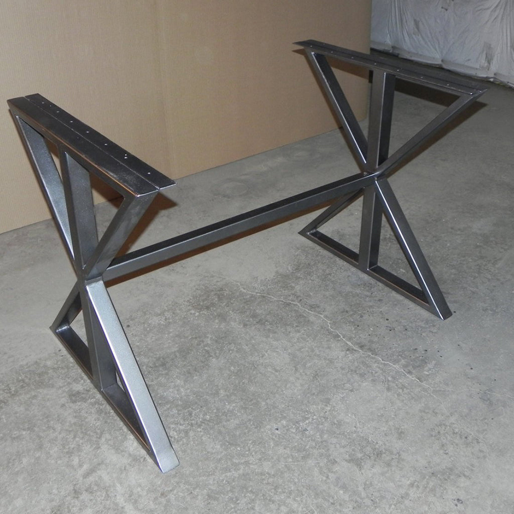 X Style Steel Table Base