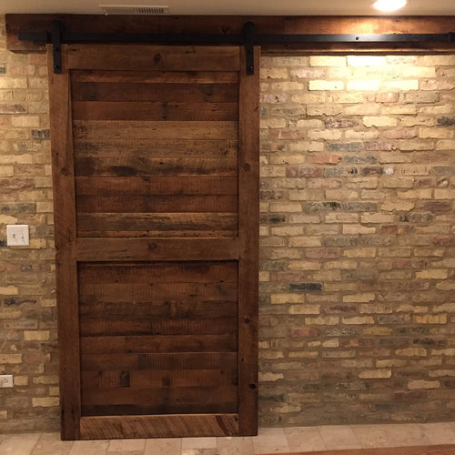 84 Inches Tall Rustic Barn Door