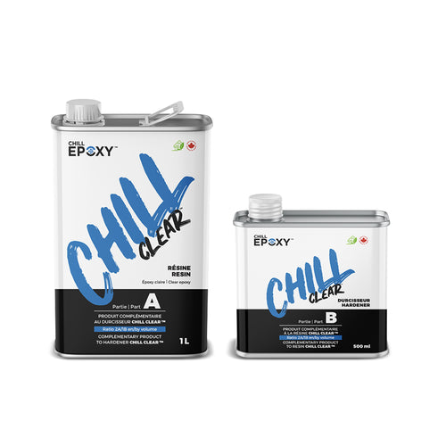 Chill Clear Epoxy Kit