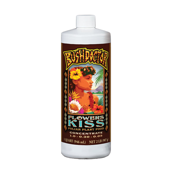 FoxFarm Bush Doctor Flowers Kiss (1 qt.)
