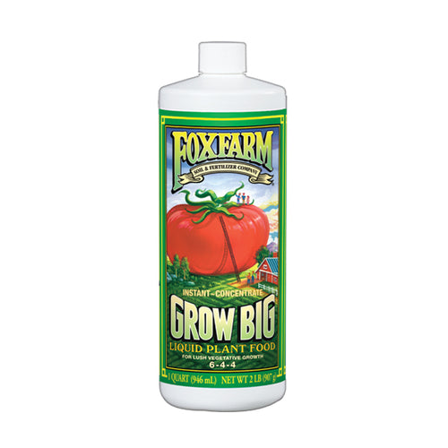 FoxFarm Grow Big Liquid Plant Food