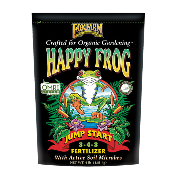 FoxFarm Happy Frog Jump Start Fertilizer (4 lb.)