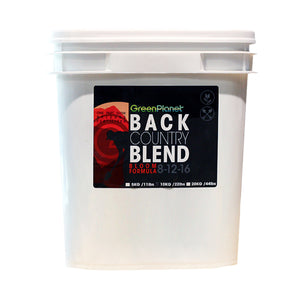 GreenPlanet Back Country Blend - Bloom Formula