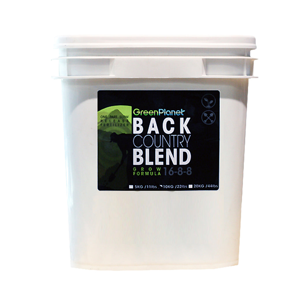 GreenPlanet Back Country Blend - Grow Formula