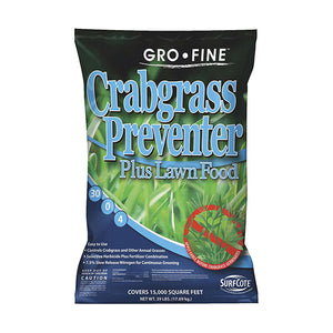 Gro-Fine Lawn Fertilizer with Crabgrass Preventer (39 lb.)