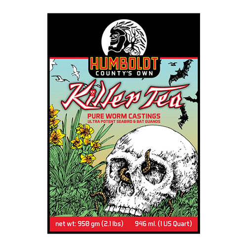 Humboldt County's Own Killer Tea (1 quart.)