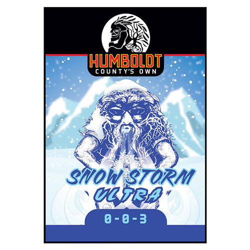 Humboldt County's Own Snow Storm Ultra 0-0-3