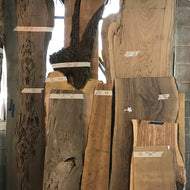 Live Edge Slabs (Various)