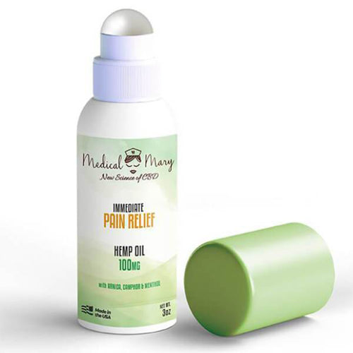 Medical Mary Immediate Pain Relief Roll-On Stick