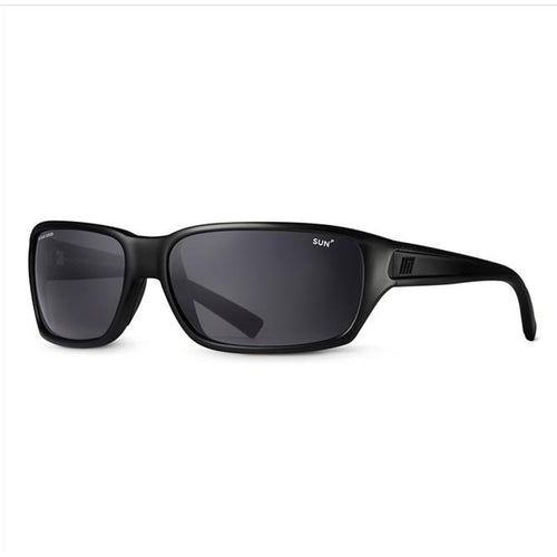 Method Seven Resistance Sun Polarized Black Frame Glasses