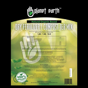 Planet Earth Natural Organic Based Dry Fertilizer