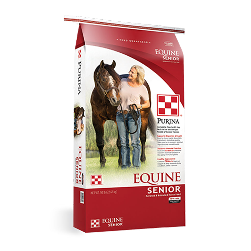 Purina Equine Senior Horse Feed (50 lb.)