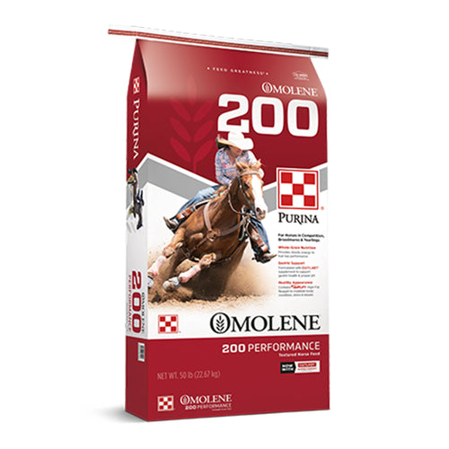 Purina Omolene #200 Performance Horse Feed (50 lb.)