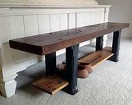 Reclaimed Entryway Bench
