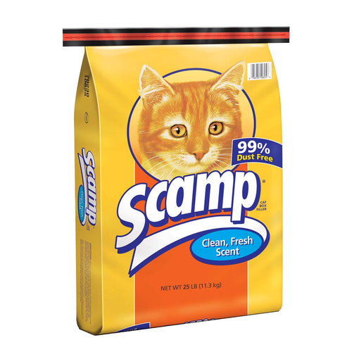 Scamp Traditional Clay Litter (50 lb.)