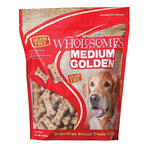 Sportmix Wholesomes Medium Golden Dog Biscuit Treats