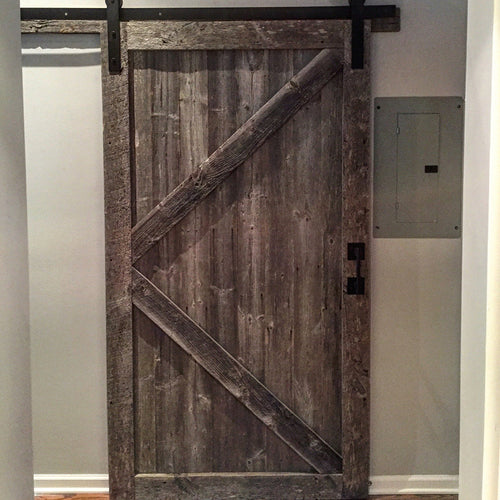 Standard Sized K-Style Barn Door