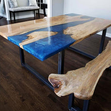 Spalted Oak River Table