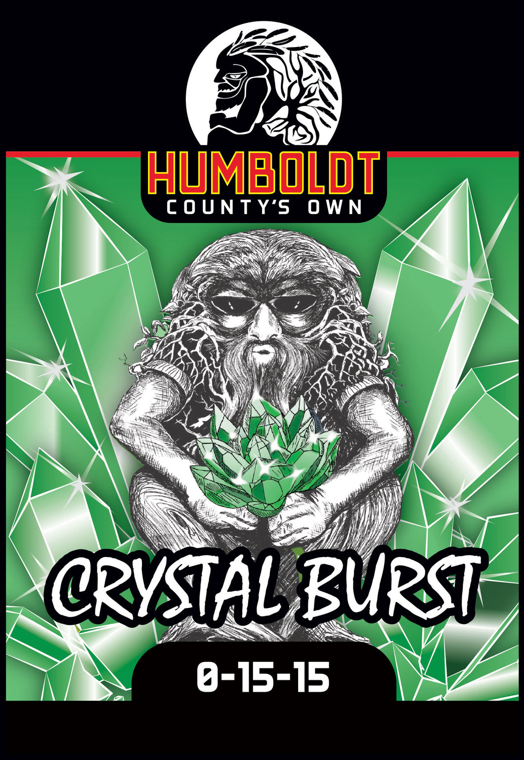 Humboldt County's Own Crystal Burst