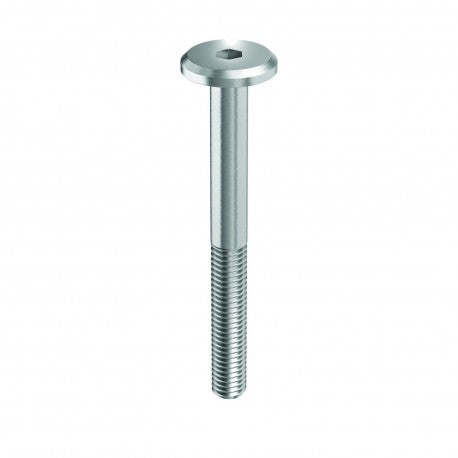 M6 X 30, Flathead Screw Steel Black Zinc Plated
