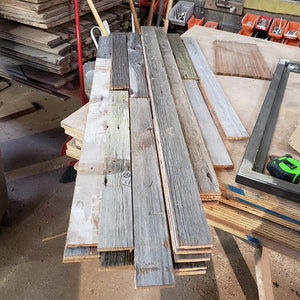 Gray Barn Wood Slats