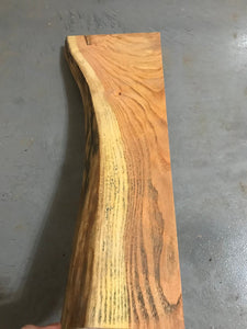 Finished Live Edge Oak