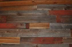 2-4 FT Long Color Stain Cedar Grey And Red Barn Wood Wall Board Which Also Can Be Used For Accent Walls And Table