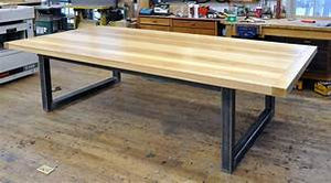 8ft Long Oak wood Table Top And Industrial Pipe Legs Modern Custom Table Suitable For Your Office, Resident or Any Places