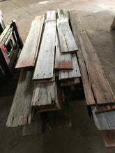 Red and Gray Reclaimed Barn Wood