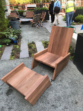 Solid Reclaimed Red Wood Comfort Chair From Chicago Water Tower For Both Indoor And Outdoor Use