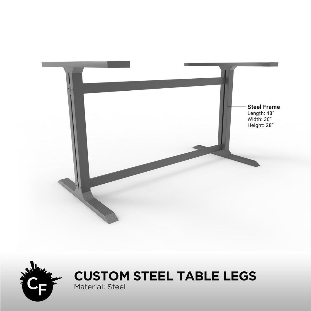Custom Steel Table Legs