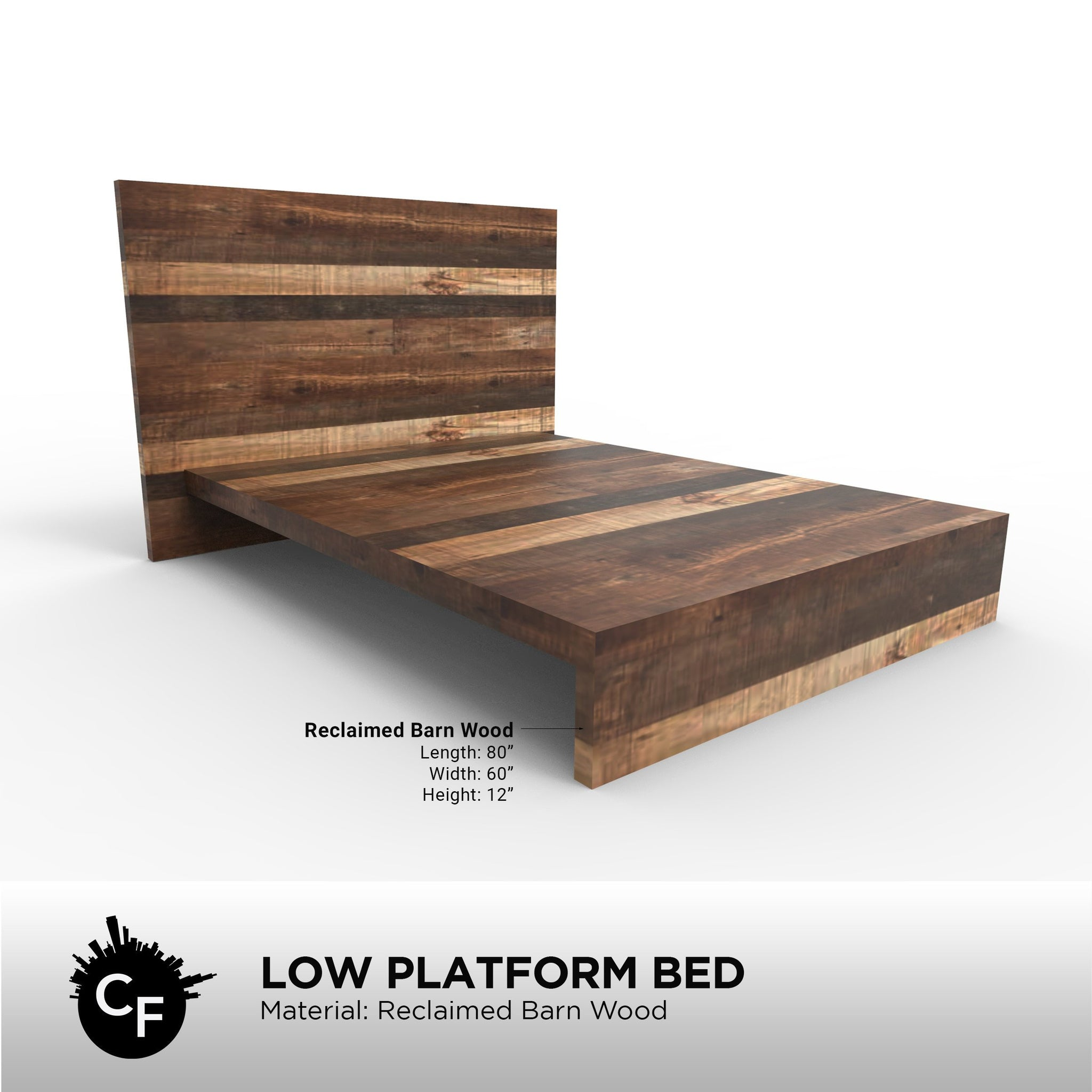 Low Platform Bed Chicago Fabrications