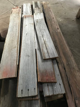 Reclaimed Barn Wood (Red/Gray)