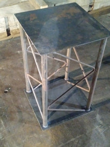 Steel Coffee table base  (Colonial style)