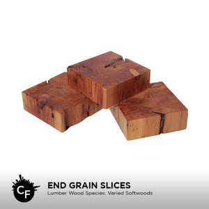 End Grain Slices