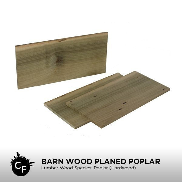 Barn Wood Planed Poplar