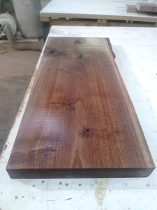 walnut natural live edge rustic rough slab craft lumber wood for Shelf or  Coffee table
