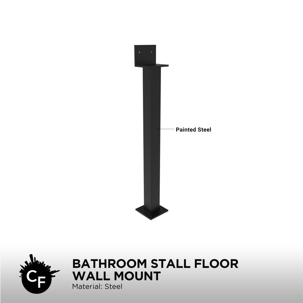 Bathroom Stall Floor Wall Mount