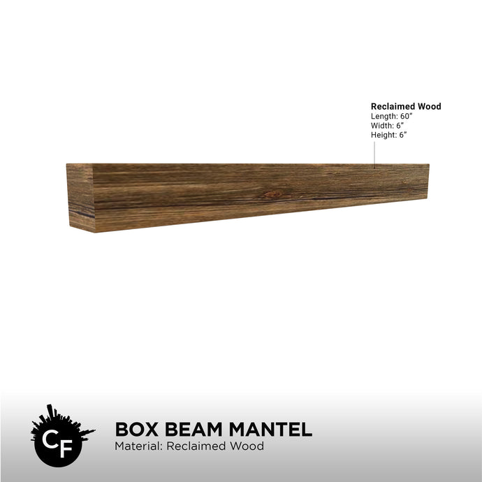 Box Beam Mantel