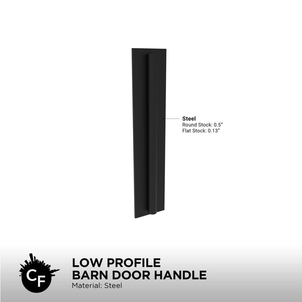 Low Profile Barn Door Handle