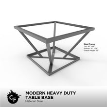 Modern Heavy Duty Table Base