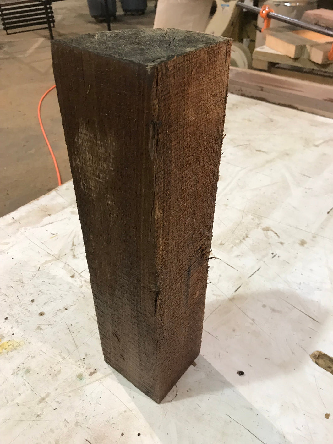 Walnut 4x4 for wood turning on Lathe