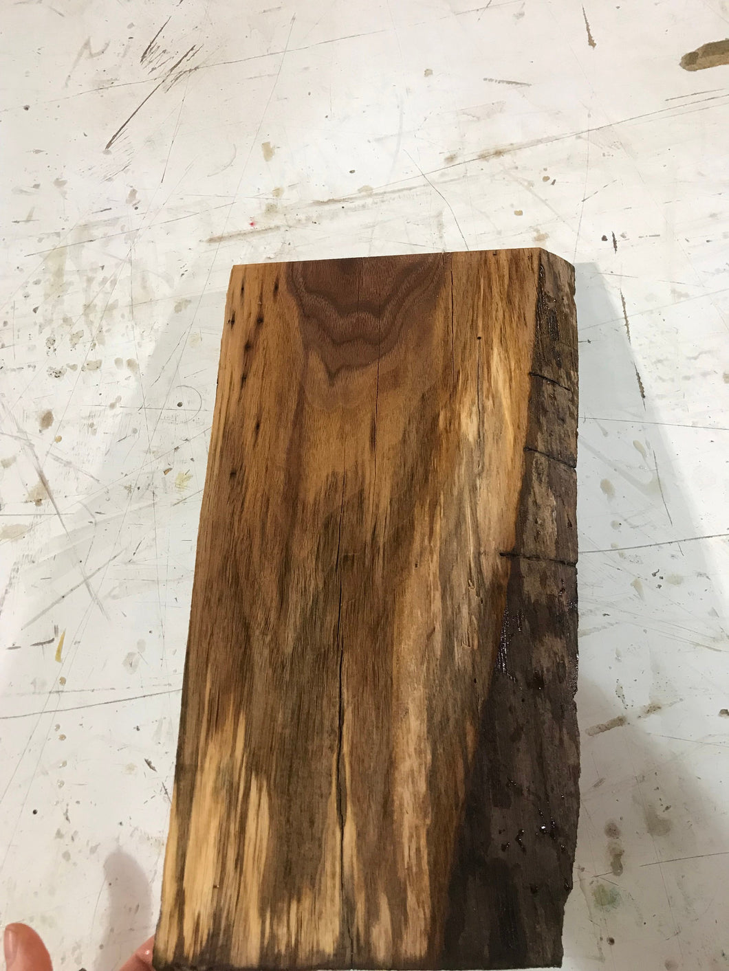 Live edge walnut