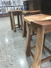 Walnut Maple live edge Stools