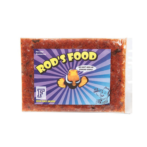 Rod's Food Fish Only Blend Frozen Reef Food (6 oz.)