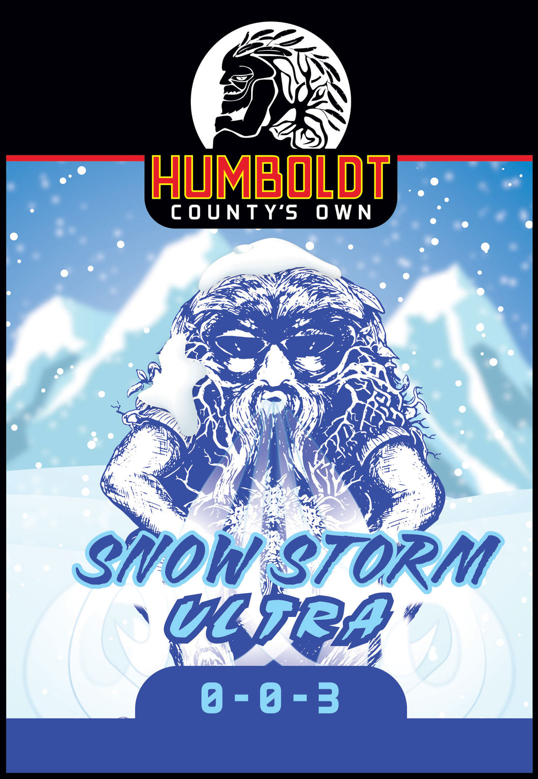 Humboldt County's Own Snow Storm Ultra