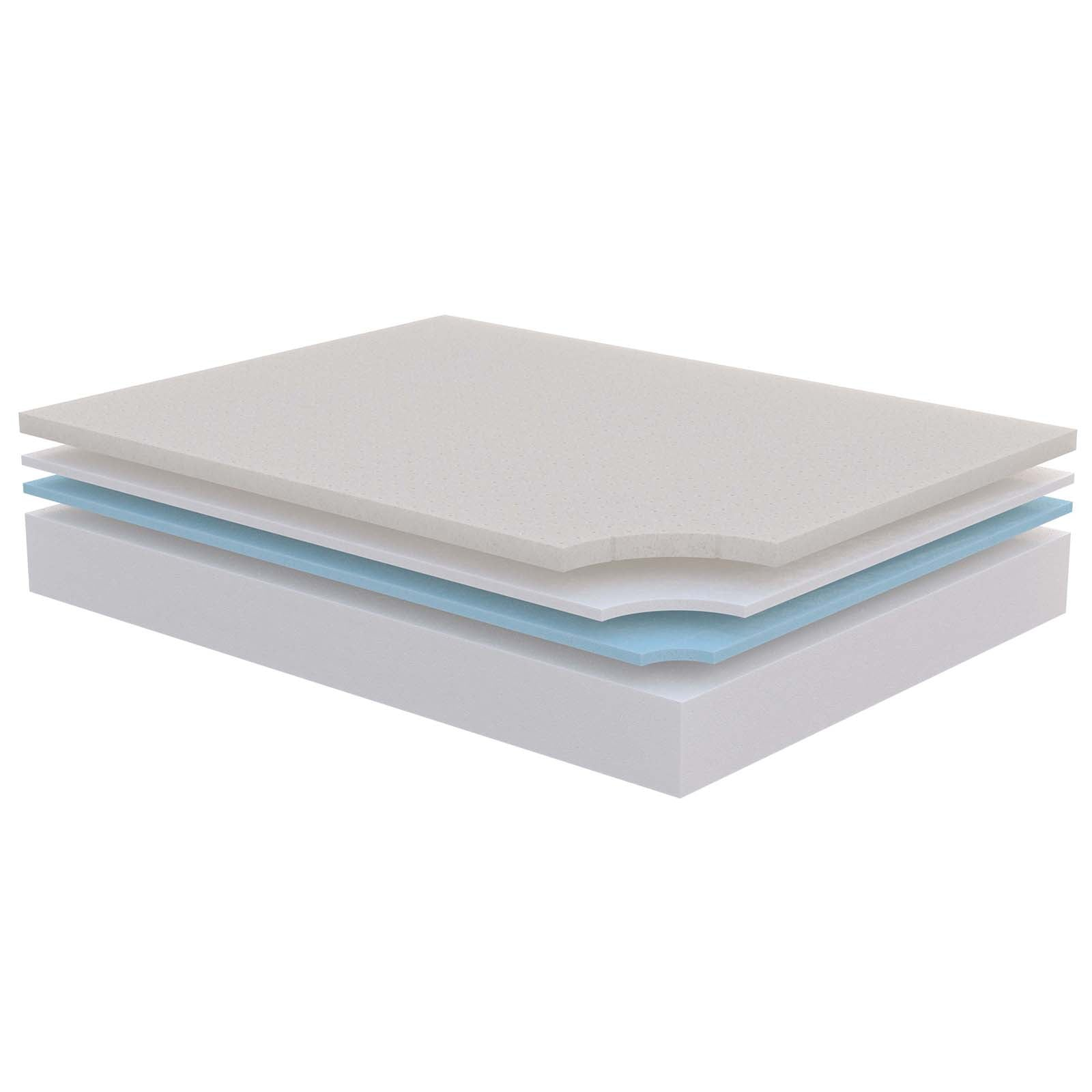 queen overstock rest mattress bed inch pool ultimate s memory and nice decorating foam king