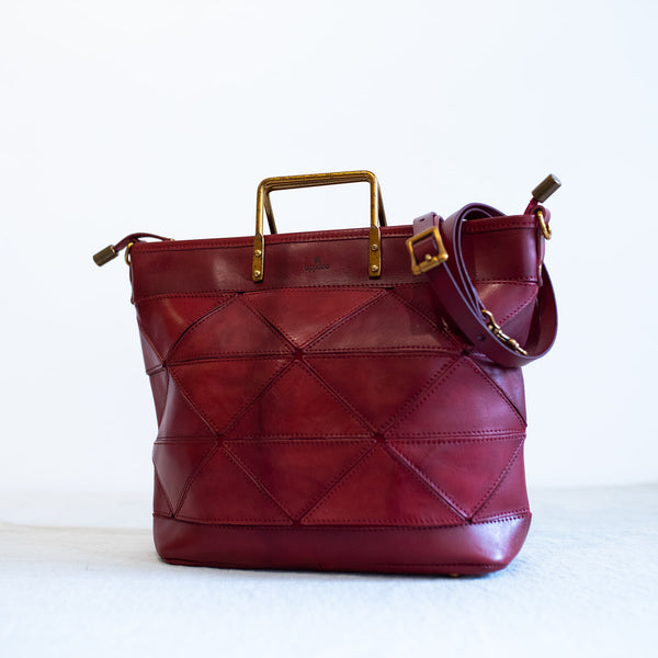 Origami Small Tote Ruby