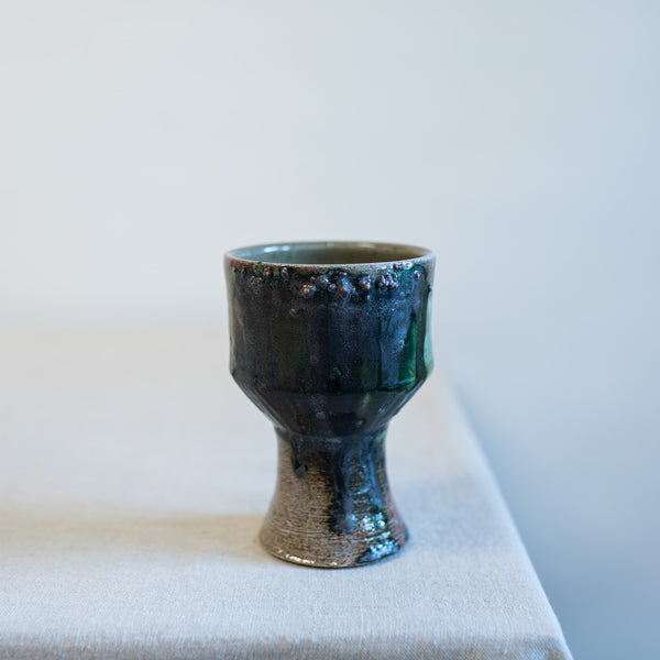 Salt Fired Goblet