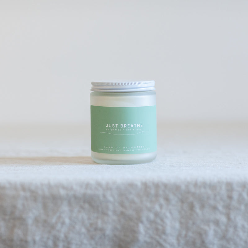 Just Breathe 8oz Candle